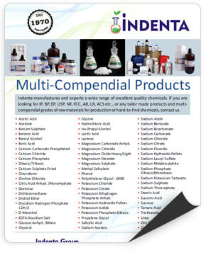 Download Multi-Compendial Products Brochure